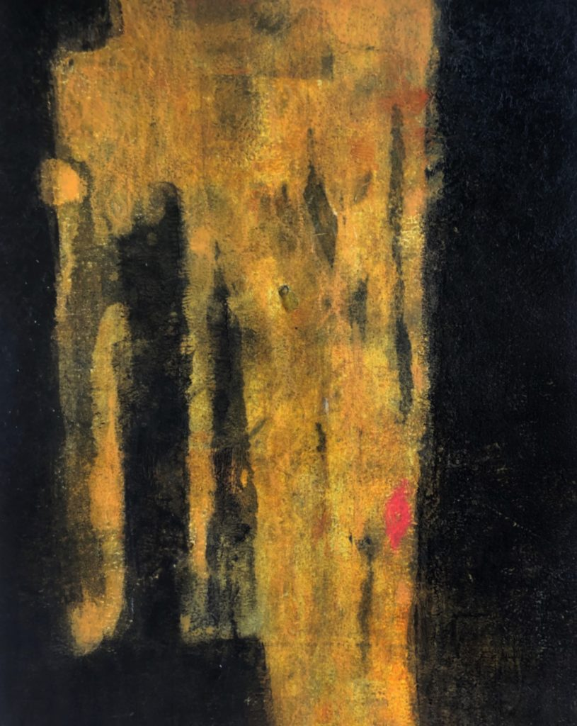 The Phoenician Couple II 40x50 ColdWax & Oil